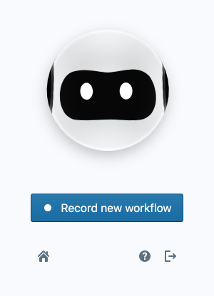 Browse AI Recorder Popup