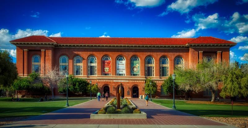 Image of the Arizona State Museum on the University of Arizona campus
