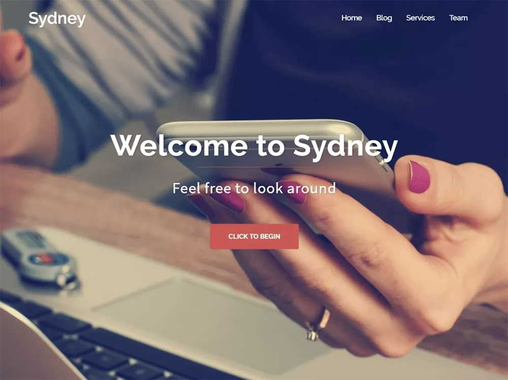 wordpress theme  0008 Sydney