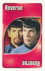 Star Trek (1999) Fuchsia Uno Reverse Card