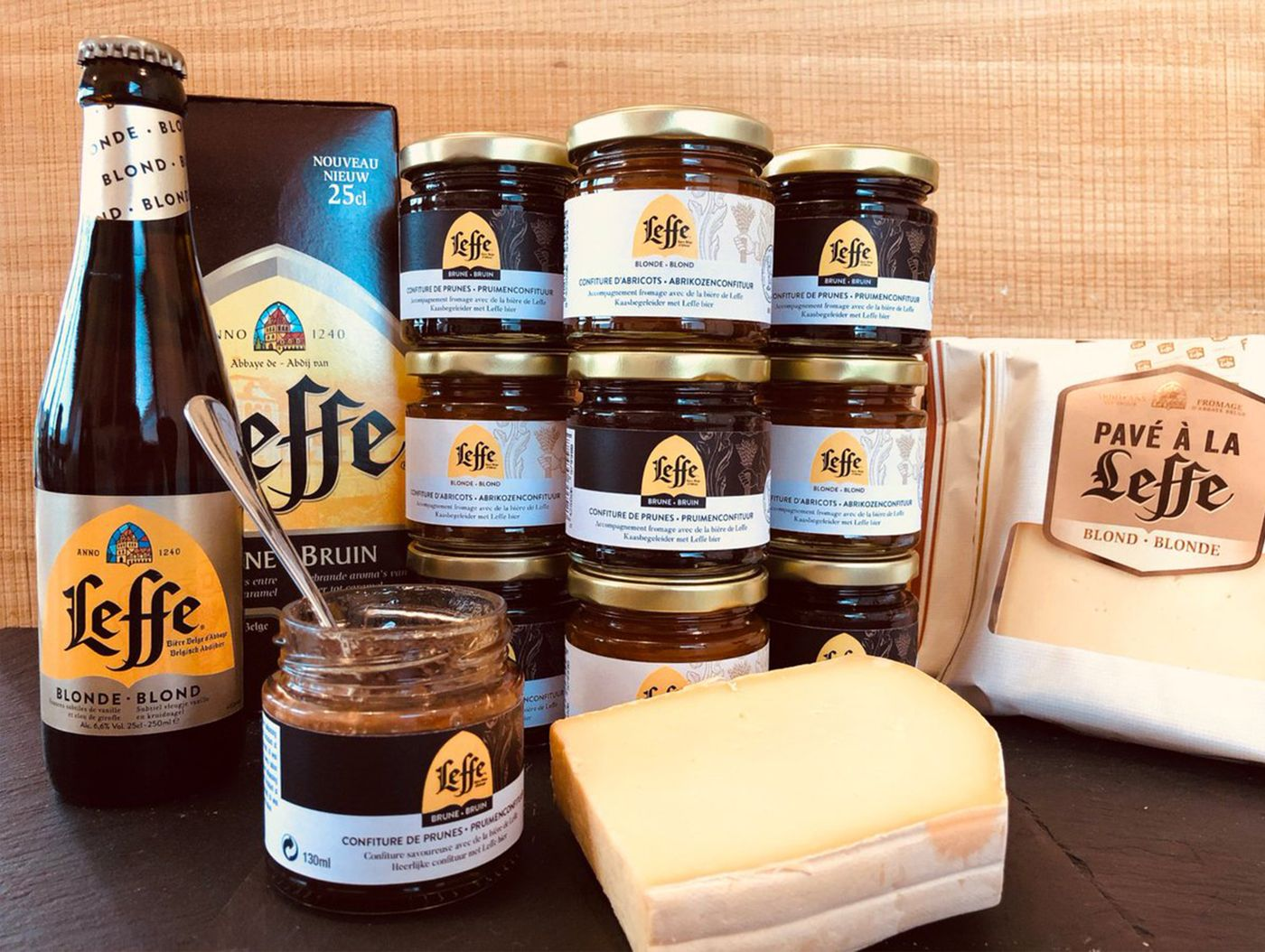 Leffe Chutney & Cheese