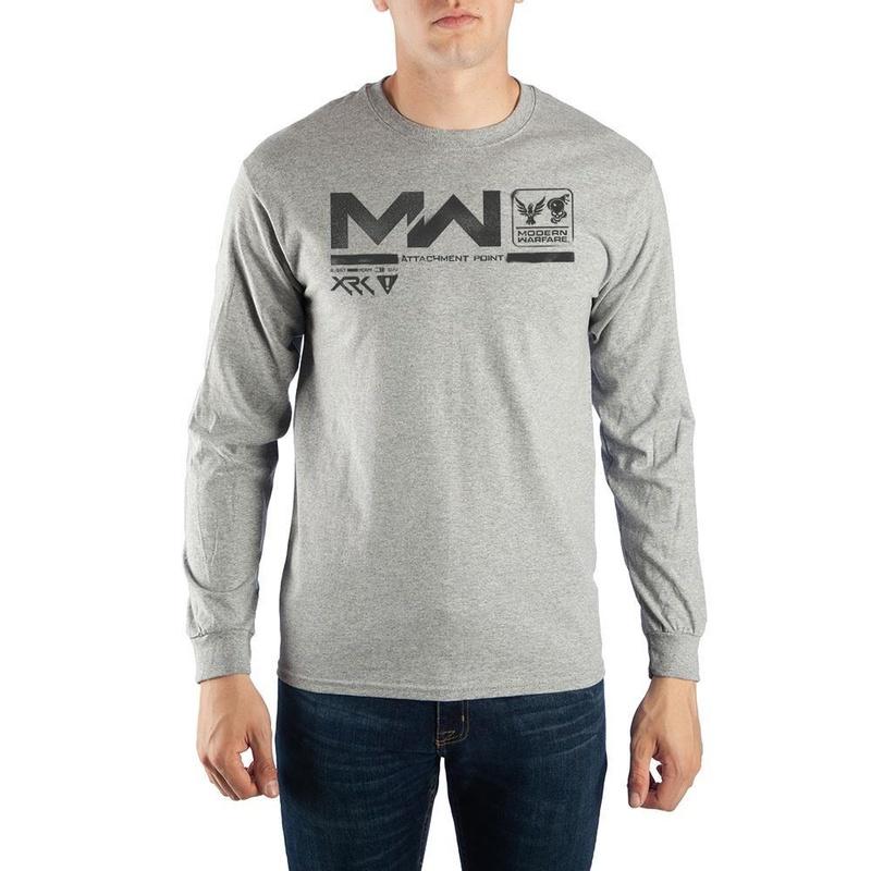 Call of Duty Modern Warfare Mens Long Sleeve Shirt