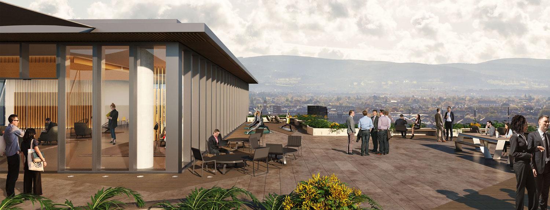westridge cgi for new kevin street rooftop views