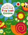 Usborne baby's very first fingertrail play book - garden by Stella Baggott