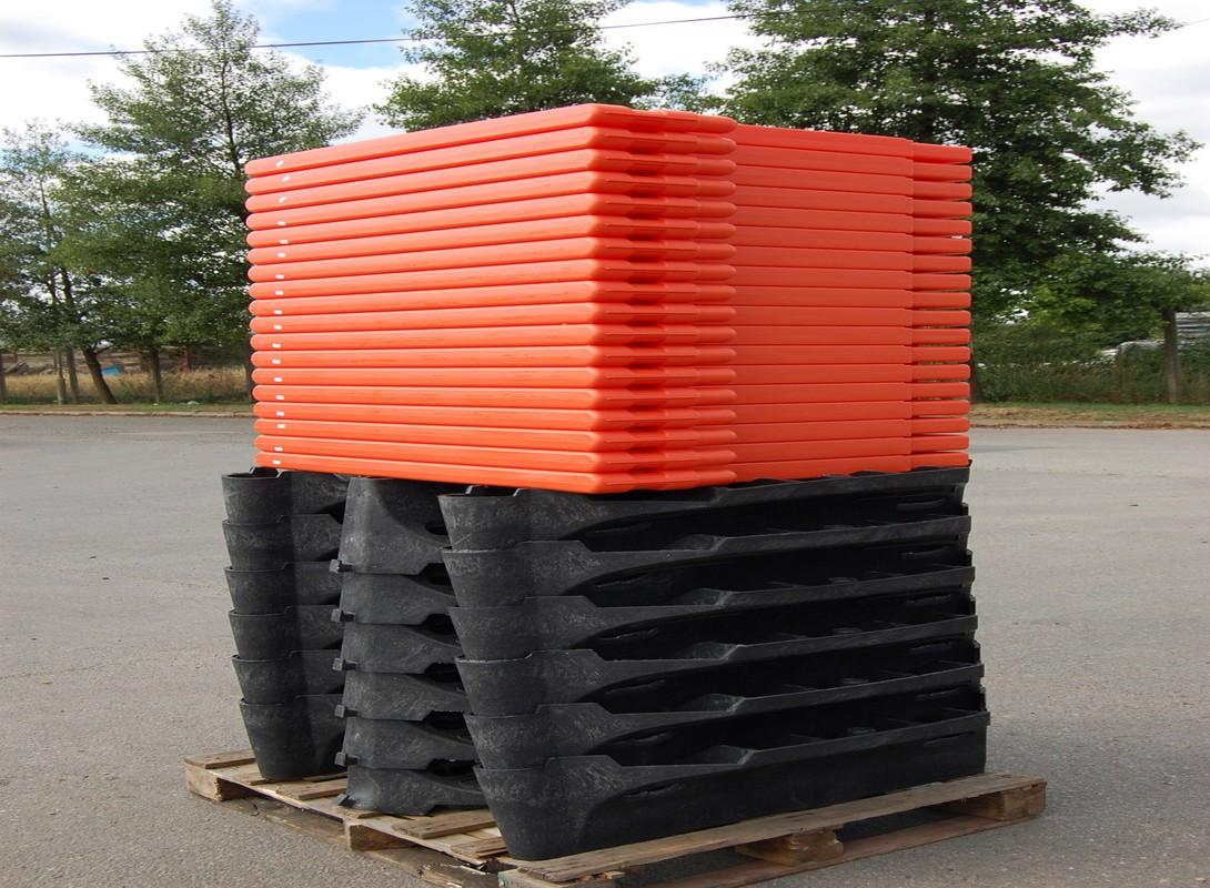 Strongwall barier pallet