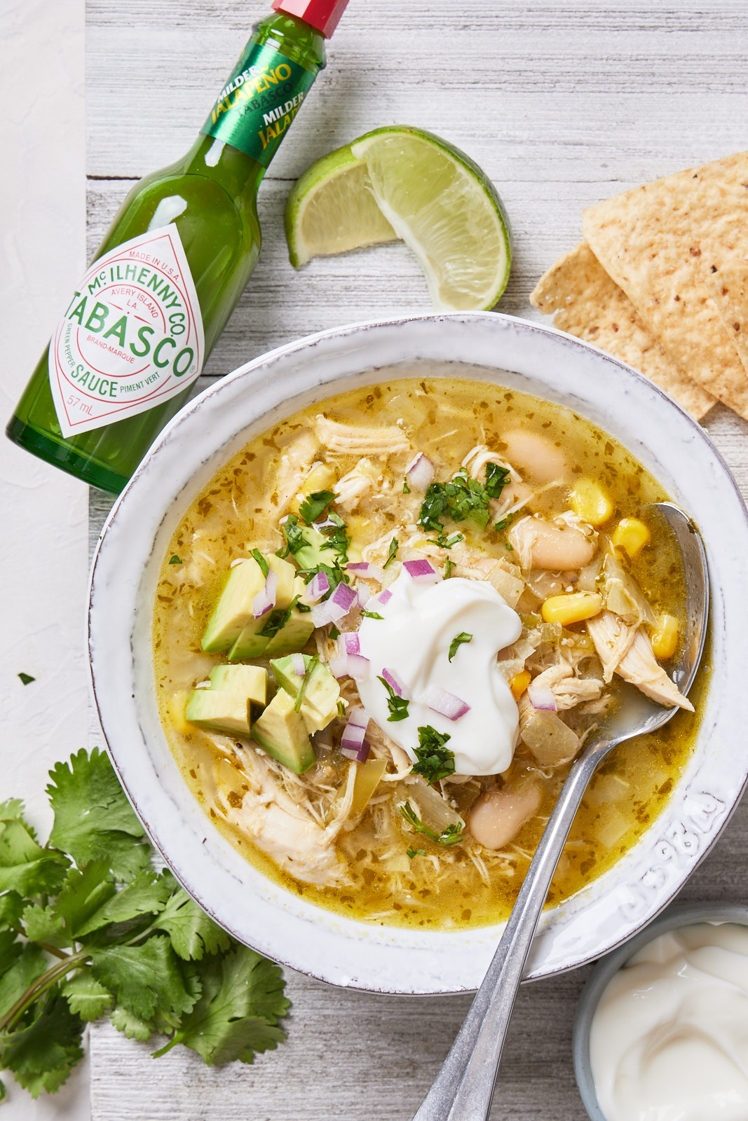Quick and Easy Green Chicken Chili