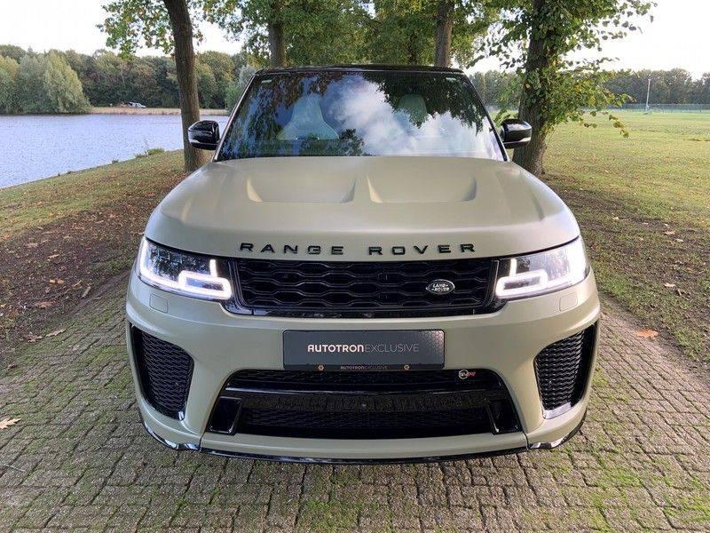 "Land Rover Range Rover Sport P575 SVR 'Solid Gloss Avocado' Carbon SVR motorkap + Drive Pro Pack + Panoramadak + 22"" + Stoelkoeling + Head-Up + Stuurwielverwarming + Carbon interieur afbeelding 14"