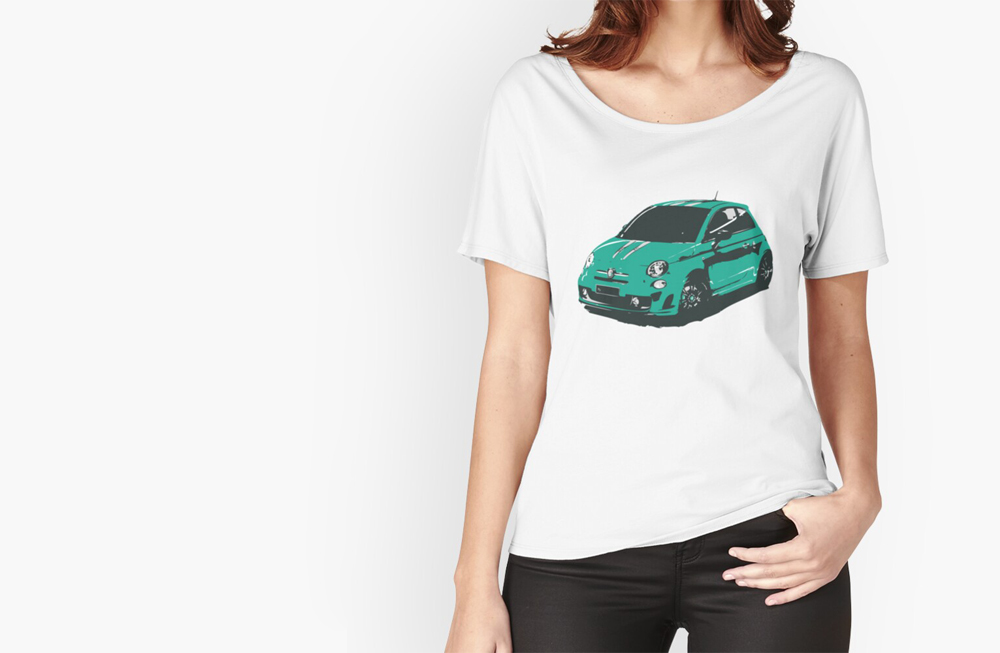 Women Relaxed Fit T-Shirts by thespeedart