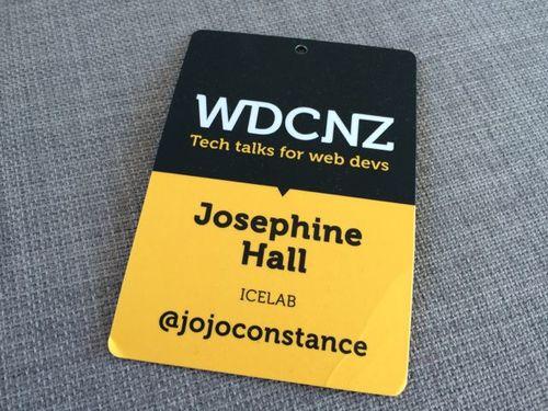 WDCNZ lanyard tag