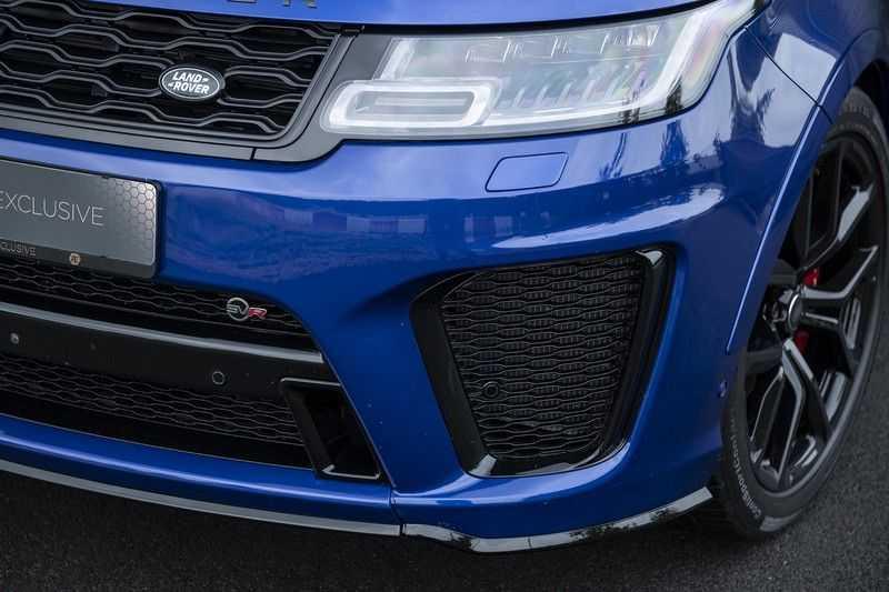 "Land Rover Range Rover Sport P575 SVR Carbon SVR motorkap + Drive Pro Pack + Panoramadak + 22"" + Stoelkoeling + Head-Up + Stuurwielverwarming + Carbon interieur afbeelding 6"