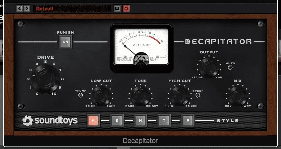 Decapitator by Soundtoys Plugin