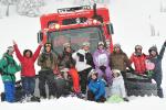 Ski camp group