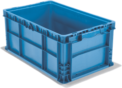 Stackable Straight Wall Containers