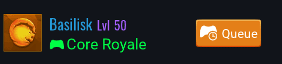Queueing for Core Royale