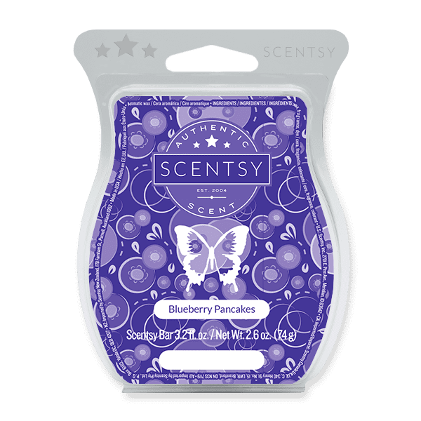 Picture of Blueberry Pancakes Scentsy Bar