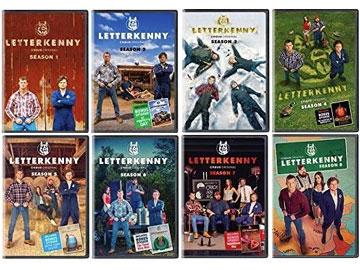 Letterkenny DVD Seasons 1-8