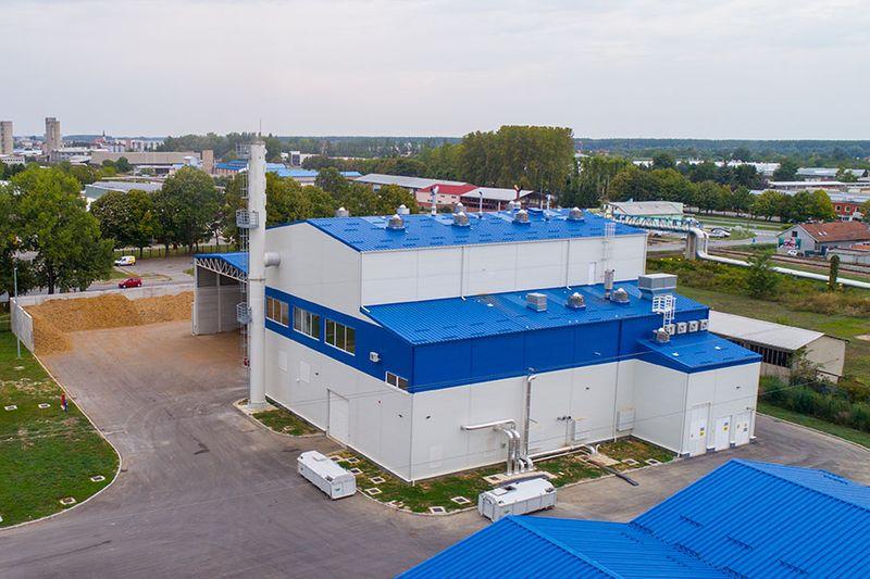 Projekt - BIO – CHP Sisak and Osijek bioelectric power plants