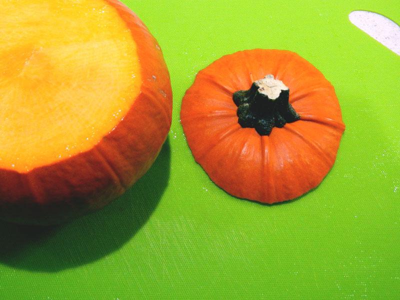 Pumpkin, Top Removed
