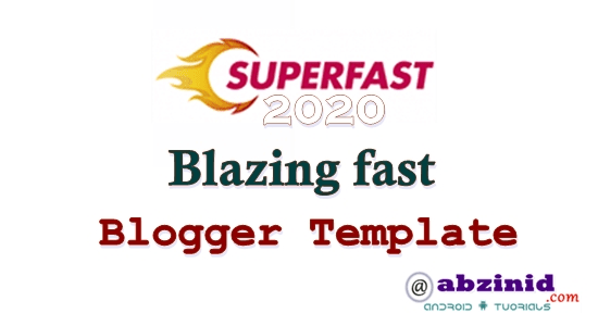 Premium Superfast Blogger Template free Download 2020 Mobile Responsive ads Ready for blogspot.com