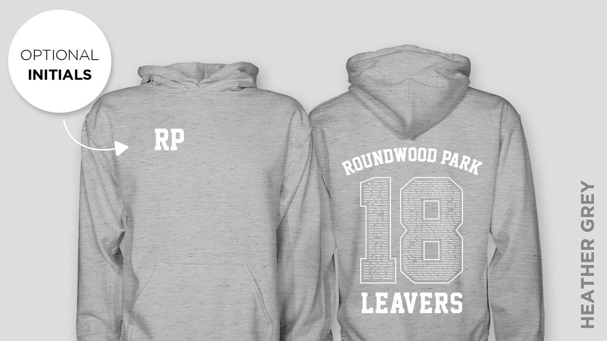 Roundwood Park Leavers Hoodies 2018