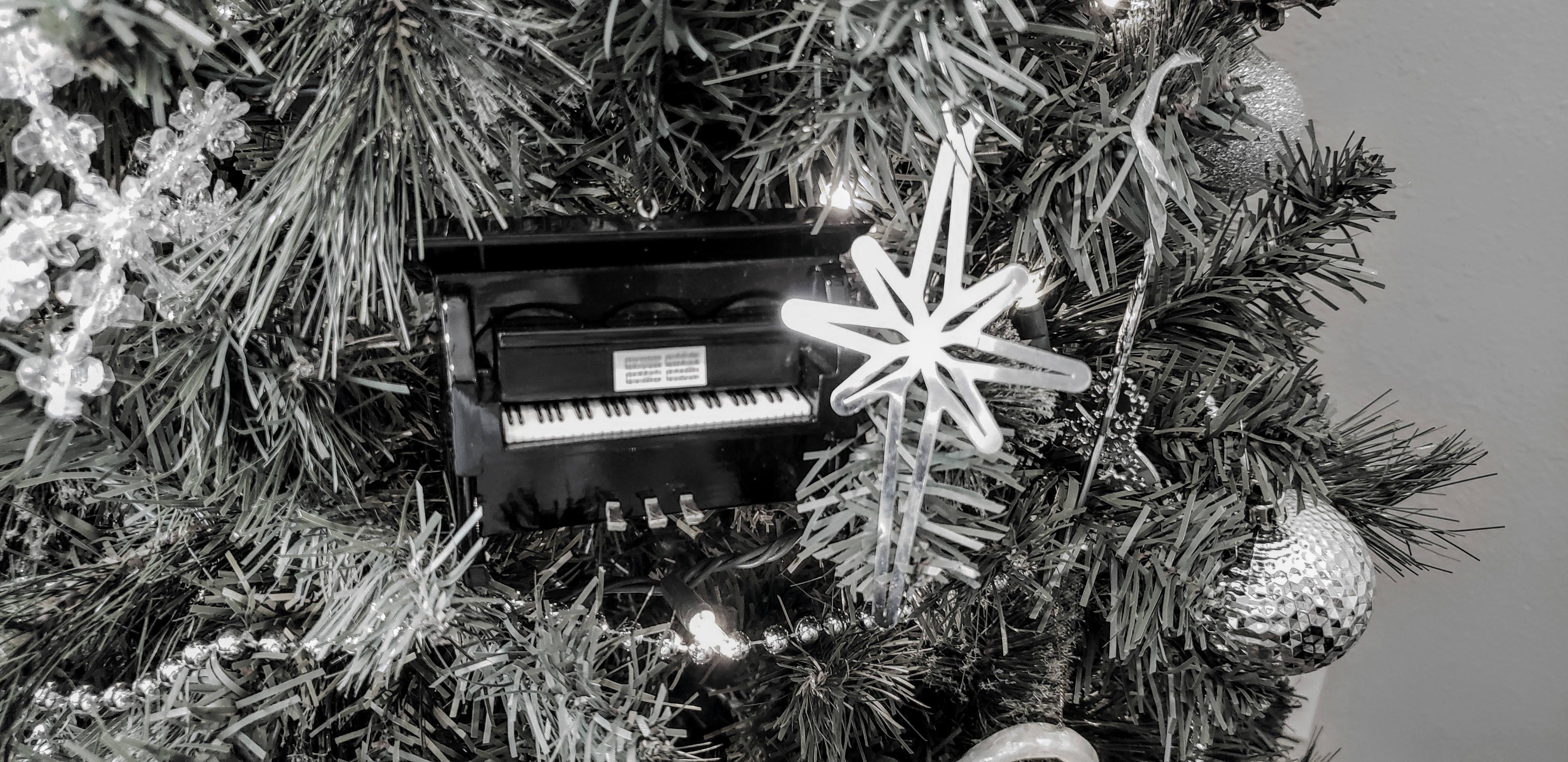 Light the world tree ornament