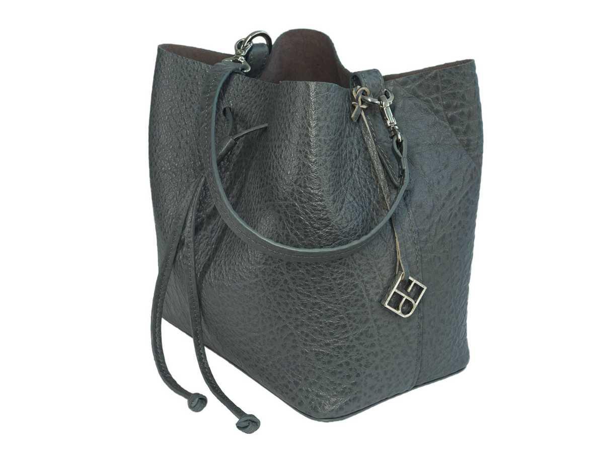 Alya Bucket Small - dark grey