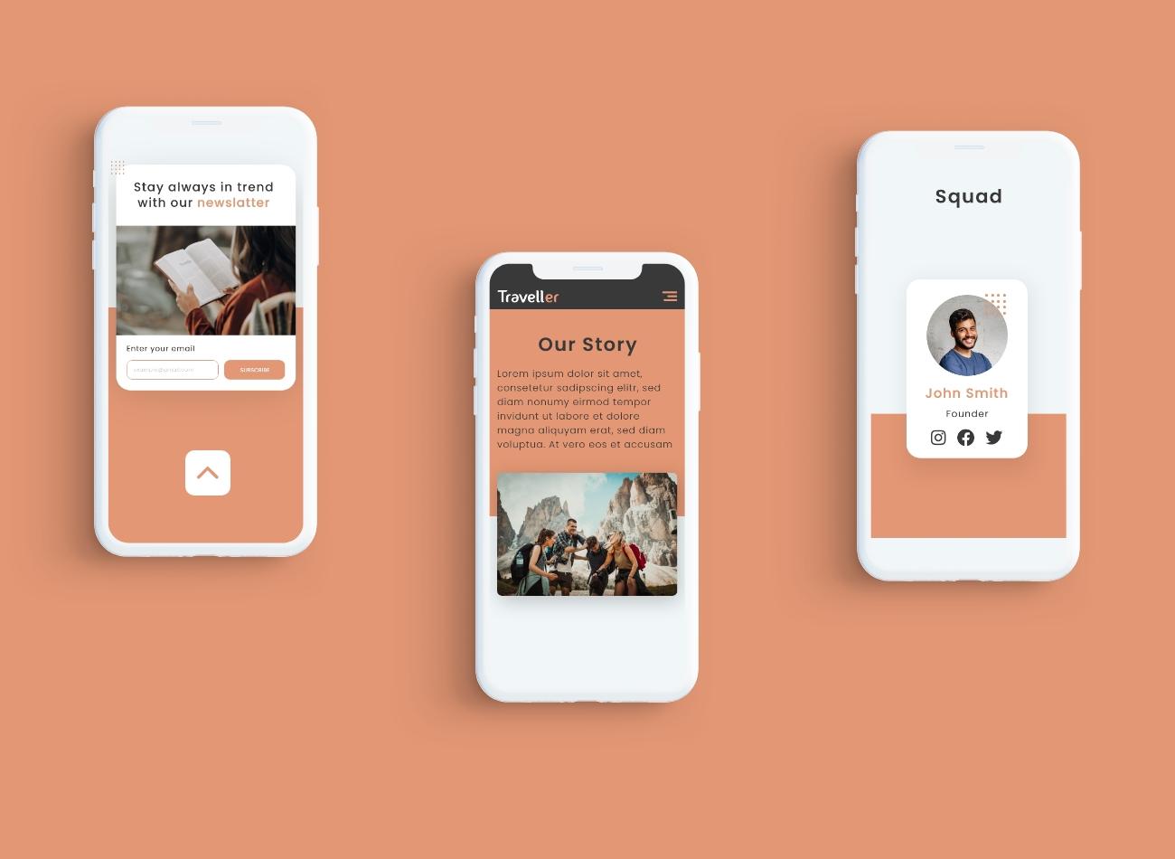 Mobile Design Mockup2