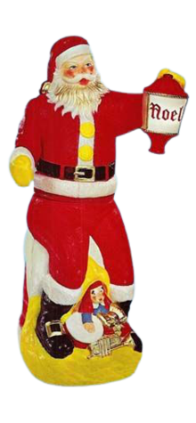Animated Swinging Santa photo