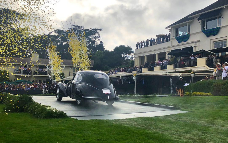 Luxury Life Best Of Show At The Th Pebble Beach Concours Delegance - Pebble beach car show 2018