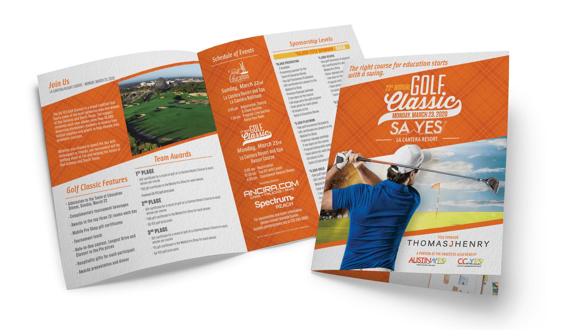 SA YES Golf Invitation