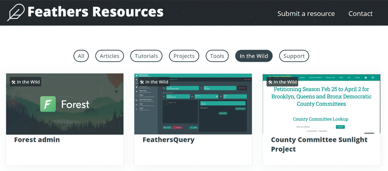 Tools, projects, and examples for FeathersJS developers in 2020