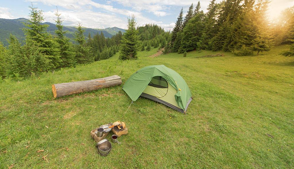 campsite in colorado