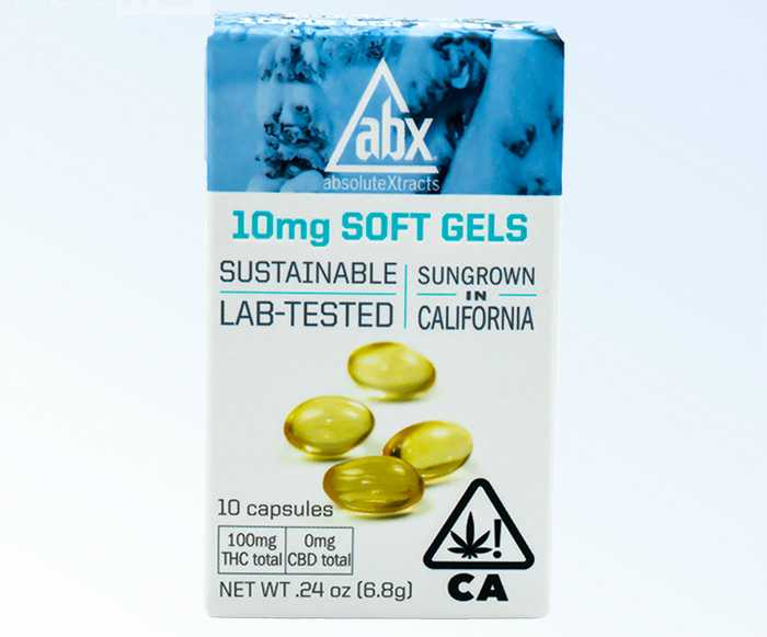 Absolute Xtracts Cannabis Soft Gels