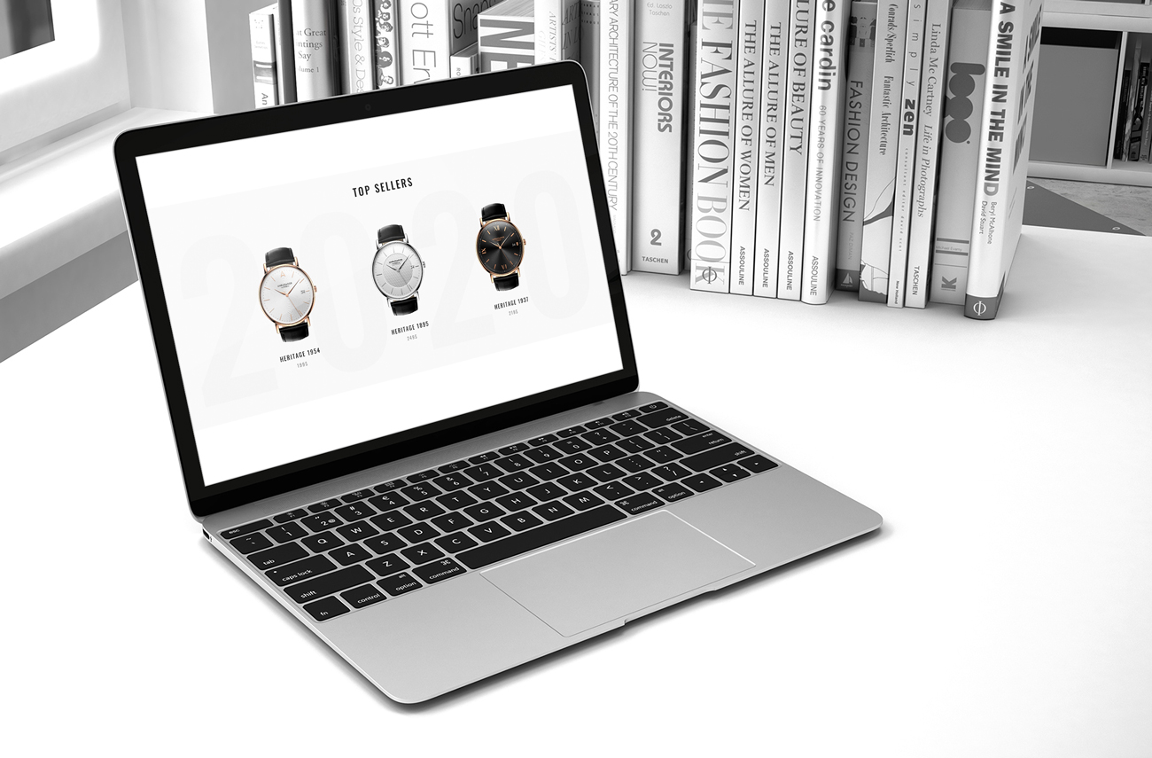 Santini Royal Case Study Landing Page Best Sellers Section Showcase
