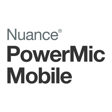 Nuance PowerMic Mobile