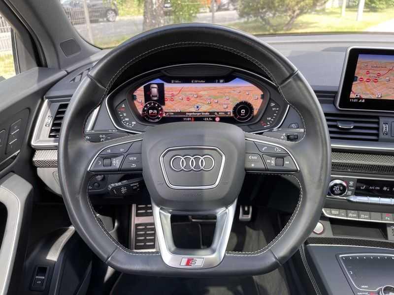 Audi SQ5 3.0TFSI 354pk Quattro Black Optic Lucht HUD Standk B&O Pano Ruitleder Tr.Haak ACC afbeelding 25