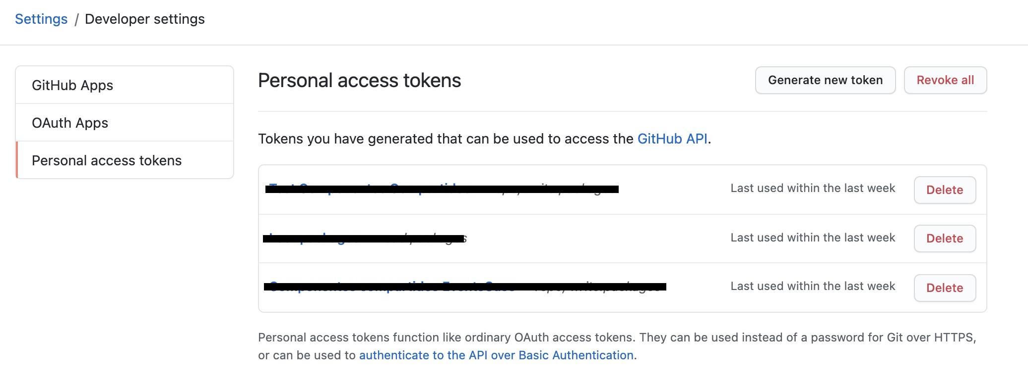 Crear un token personal en Github