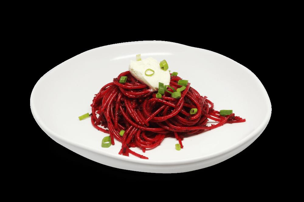 Beetroot pasta