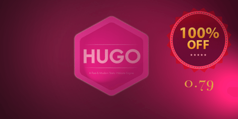 Featured Image for Hugo 0.79.0: Black Friday Edition