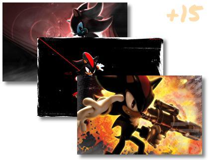 Shadow Hedgehog theme pack