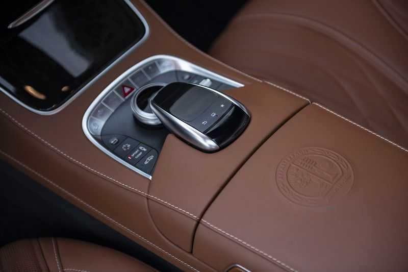 Mercedes-Benz S63 Cabrio 63 AMG 4Matic DISTRONIC + BTW + BURMESTER afbeelding 22