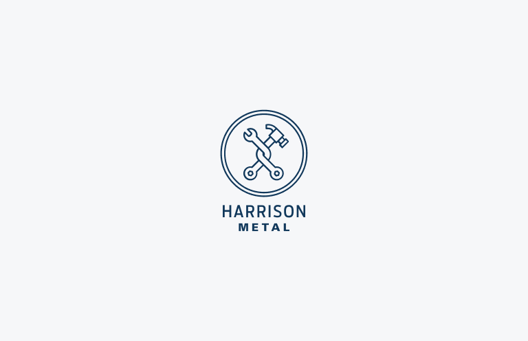 Harrison Metal logo