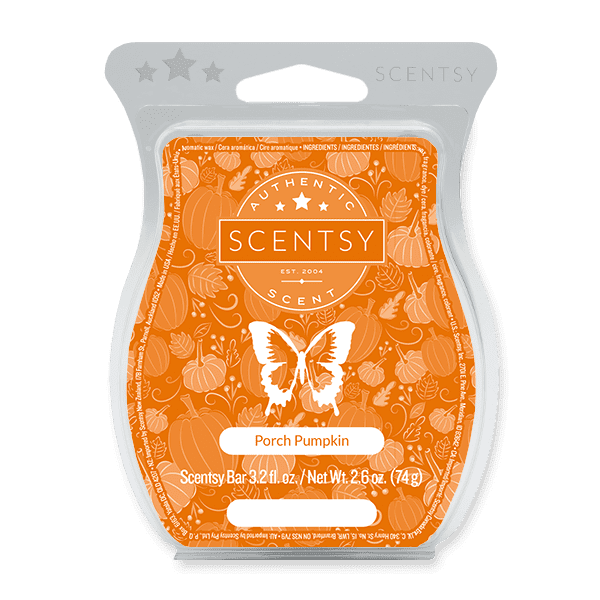 Picture of Porch Pumpkin Scentsy Bar