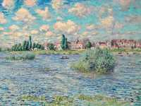 Monet's The Seine at Lavacourt, sold by Christie's New York for $15.837 million in May 2018