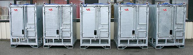 Godkjente DNV transportkontainer for IBC