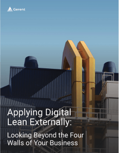 Applying Digital Lean Externally: Looking Beyond the Four Walls of Your Business Cover