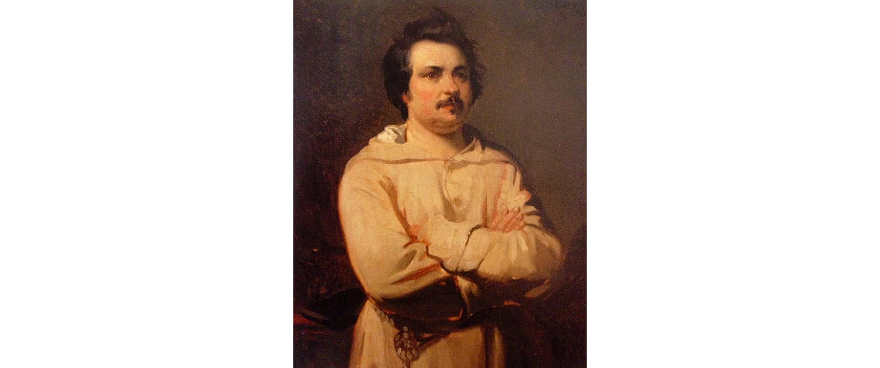 Портрет маслом Луи Буланже, 1836 год