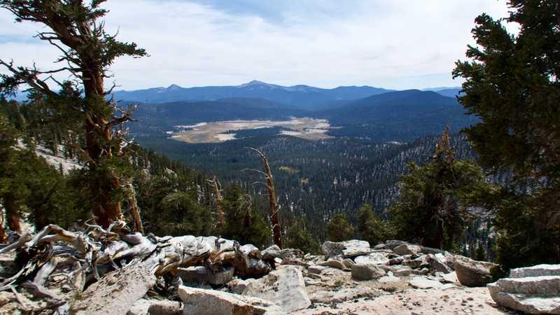 A view of Kern Peak