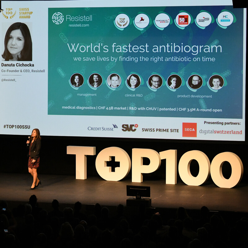 Resistell ranks 34th in TOP 100 SWISS STARTUP ranking 2019