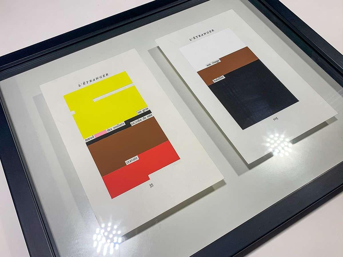 Framed studies for L'Étranger